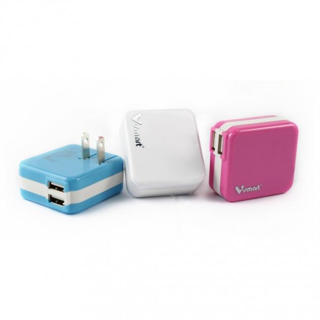USB電源轉換充電器-白色 3