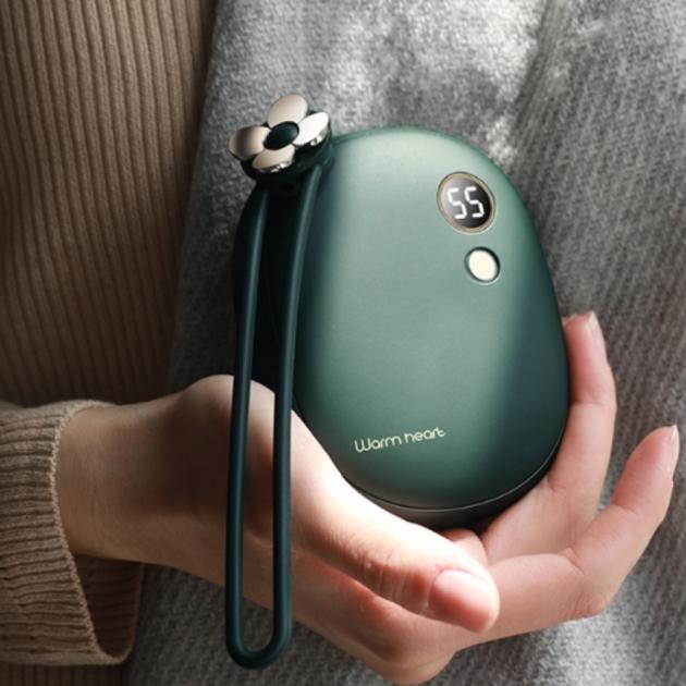 多功能電子暖暖包 - 墨綠 1