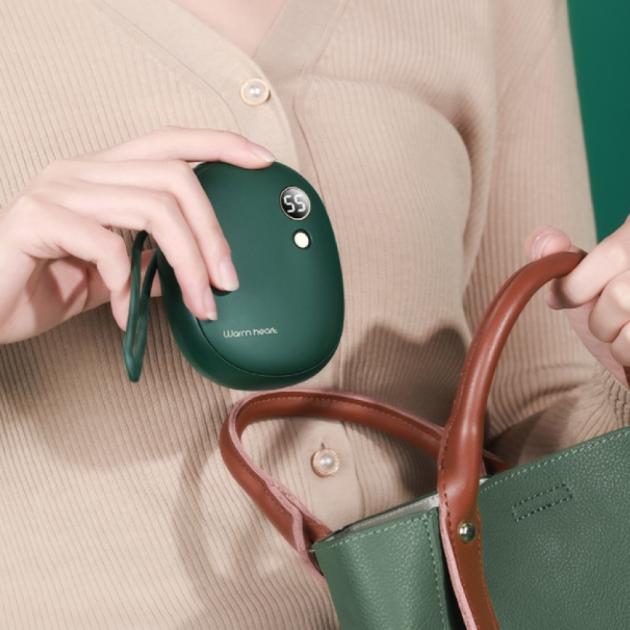 多功能電子暖暖包 - 墨綠 2