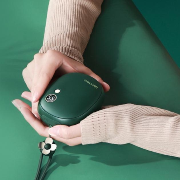 多功能電子暖暖包 - 墨綠 3