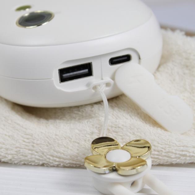 多功能電子暖暖包 - 白 4