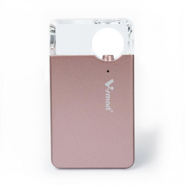 攜帶式迷你雲 5G WI-FI 無線隨身碟 128GB-玫瑰金 3