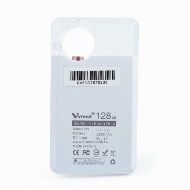攜帶式迷你雲 5G WI-FI 無線隨身碟 128GB-玫瑰金 4