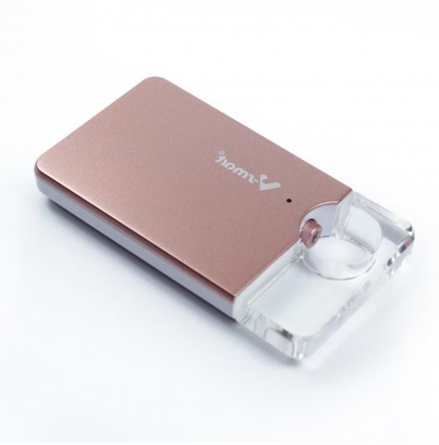 攜帶式迷你雲 5G WI-FI 無線隨身碟 128GB-玫瑰金 2