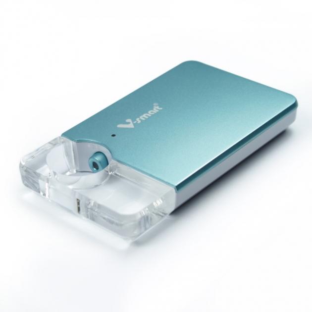 攜帶式迷你雲 5G WI-FI 無線隨身碟 256GB-科技藍 2