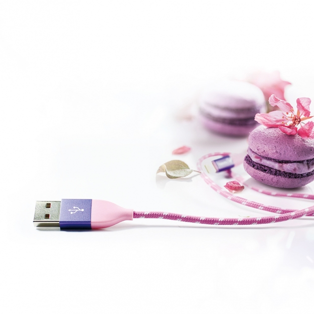 Charging Cable for iphone-Pink 4